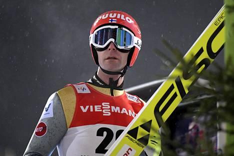 Janne Ahoselle olympiamatka on jo seitsemäs.