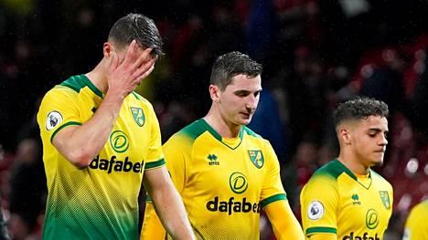 Norwich Cityllä on Valioliigassa vaikeaa. Lauantaina joukkue hävisi Manchester Unitedille 0–4.
