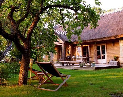 Sikke Sumarin Nami Namaste -matkalutila sijaitsee Muhun saarella Virossa.