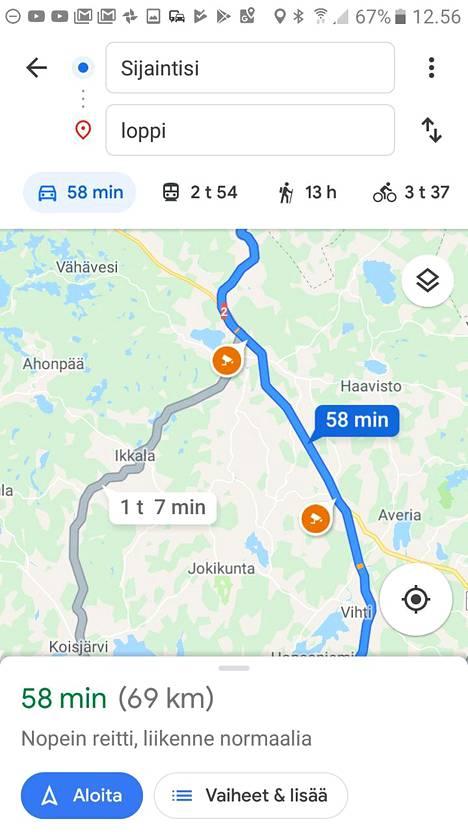 Peltipoliisit Ilmestyivat Google Mapsiin Mutta Ole Tarkkana