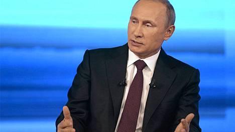 Putinin kyselytunnin arvioidaan kestävän tunteja.