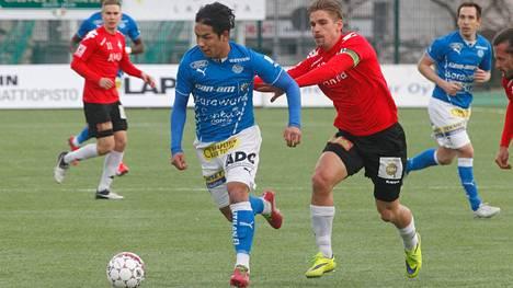 Huhtikuussa Moshtagh Yaghoubi oli suuressa roolissa, kun HIFK kaatui kotikentällä.