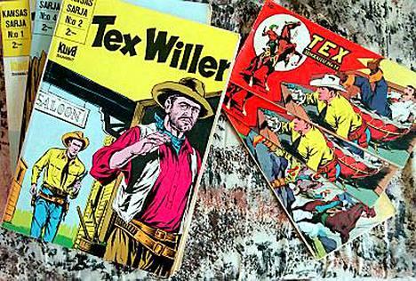 Sarjakuvasankari Tex Willer on villin lännen sheriffi.