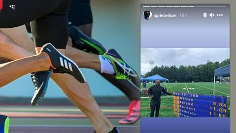 Alex Wilson julkaisi Instagram Storyssaan kuvan tuloksista.