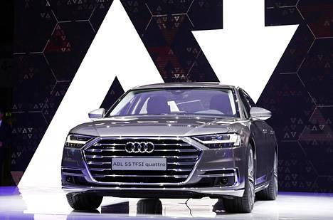 Audi A8L 55 TFSI Quattro.