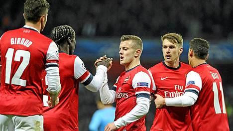 Arsenal jatkaa varmuudella Valioliigan kärjessä myös keskiviikon jälkeen.
