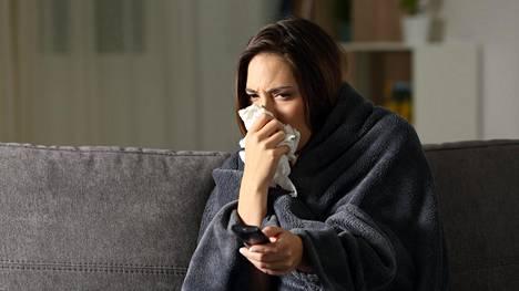 Pitkään Jatkunut Flunssa