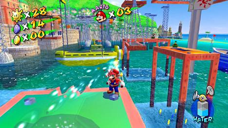 Hyväntuulinen kokoelma sisältää 3d-Mario-pelit vuosilta 1996–2007. Etenkin vesileikkeihin erikoistunut Super Mario Sunshine ilahduttaa, sillä se on saatavilla ensi kertaa 18 vuoteen.