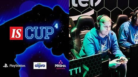 """Perttu """"Beniitto"""" Kemppainen pelasi aiemmin Symphony-joukkueessa. Nyt hän tavoittele Delusionin kanssa IS Cupin mestaruutta."""