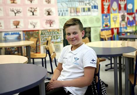 Nuori kartingkuljettaja on kantanut itse vastuuta myös sponsorien hankkimisesta.