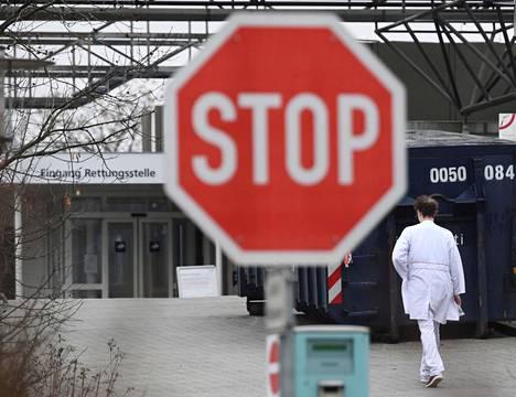 Berliiniläinen Vivantes Humboldt -sairaala asetettiin tammikuussa eristykseen sairaalassa tavattujen uusien koronavirusmuunnosten vuoksi.