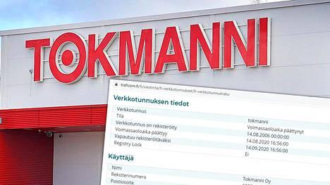 Tokmannin fi-verkkotunnus on vanhentunut perjantaina vähän ennen kello seitsemäätoista, minkä vuoksi Tokmannin verkkosivusto on suljettu näillä näkymin ainakin viikonlopun yli.