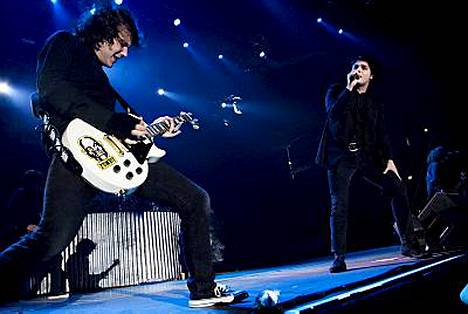 My Chemical Romance villitsi Helsingissä.