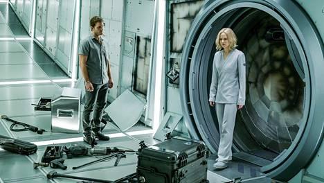 Passengers-elokuvan pääosissa nähdään Chris Pratt ja Jennifer Lawrence.