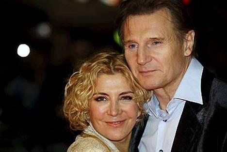 Natasha Richardson ja Liam Neeson ovat olleet yhdessä vuodesta 1984.