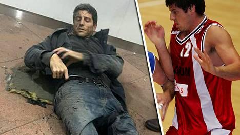 Sébastien Bellin haavoittui sirpaleista jalkaansa ja lonkkaansa.