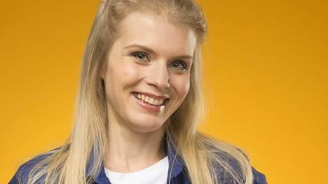 Alina Tomnikov esitti Putouksessa stressaantunutta kotiäitiä.