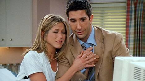 Rooli Frendit-sarjan Rachelina lienee edelleen Anistonin ikonisin.