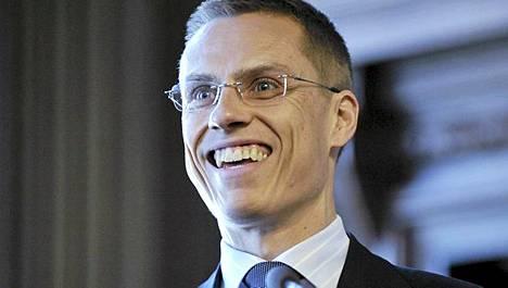 Ulkoministeri Alexander Stubb puhui Uussuomalainen työ 2011 -seminaarissa Helsingissä 16. maaliskuuta 2011.
