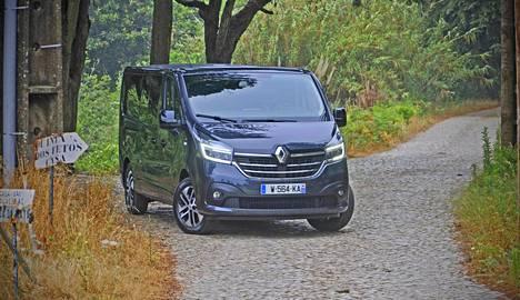 Renault Trafic on mallina jo 39-vuotias. Kuvassa uusi Trafic Space Class.