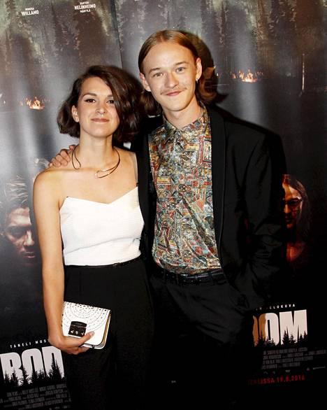 Mimosa Willamo ja Santeri Helinheimo-Mäntylä ovat kaksi neljästä elokuvan päätähdestä.