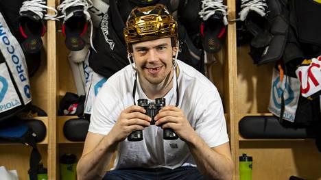 Kärppien ykkössentteri Juho Lammikko kiikaroi takaisin NHL:ään.