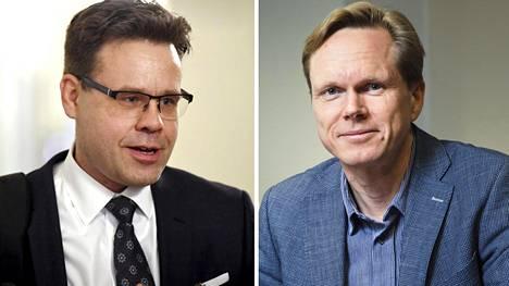 Valtiosääntöoikeuden professorit Juha Lavapuro ja Tuomas Ojanen toimivat usein asiantuntijoina perustuslakivaliokunnalle.