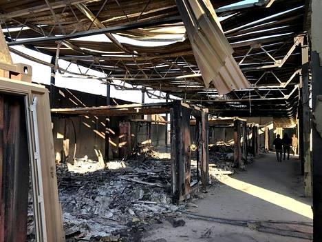 Iranin tekemä ohjusisku aiheutti aineellisia vahinkoja Ain al-Asadin ilmatukikohdassa Anbarin maakunnassa Irakissa.