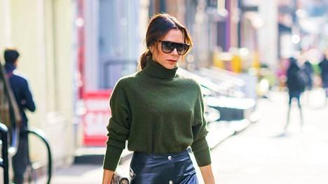 Suunnittelija Victoria Beckham tunnetaan loistavasta tyylistään.