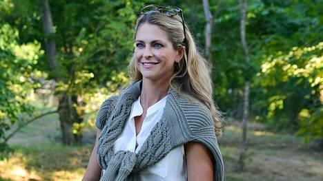 Prinsessa Madeleine perheineen on vierailemassa Ruotsissa.