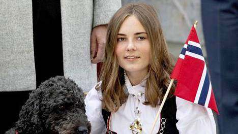 Prinsessa Ingrid päätti peruskoulun.