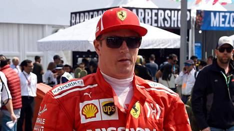Kimi Räikköstä houkuteltiin ajamaan Japaniin ennen kuin hän pääsi F1-sarjaan.