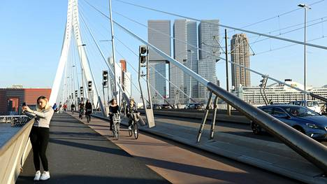 Euroviisut on tarkoitus järjestää Rotterdamissa toukokuussa.