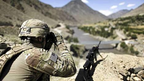 Amerikkalaissotilas Afganistanissa sunnuntaina. Kuva ei liity tapaukseen.