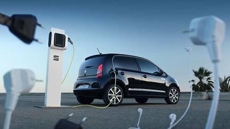 Seat Mii on pieni sähköauto. Pituutta on vain 3,5 metriä.