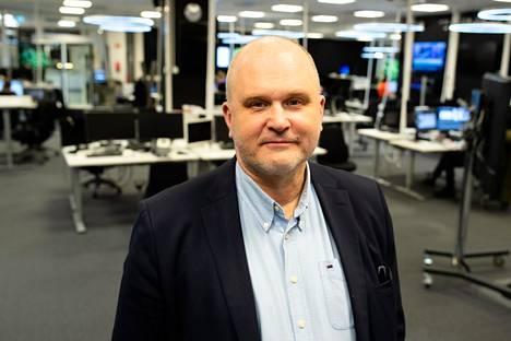 Ylen vastaava päätoimittaja Jouko Jokinen.