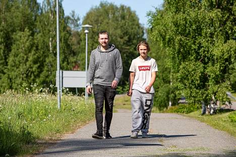 Henkka Halonen ja Jasper Jäntti.