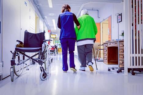 Sairaalassa hoidetaan koronaviruksen vuoksi 39 ihmistä.