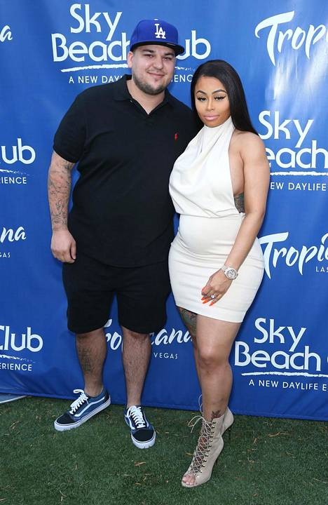 Rob Kardashianilla ja Blac Chynalla on yhteinen Dream-tytär.