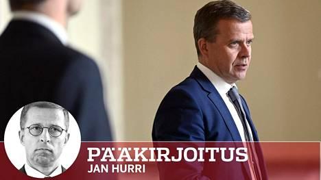 Kokoomuksen eduskuntaryhmä antoi jäsenilleen vapaat kädet äänestää miten haluavat EU:n elpymispakettia koskevassa äänestyksessä ensi viikolla. Kokoomuksen puheenjohtaja Petteri Orpo ryhmäkokouksen jälkeen eduskunnassa torstaina.