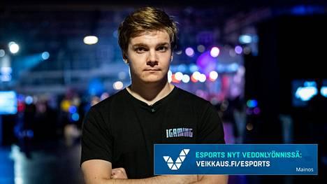 Lauri Happonen on yksi Suomen tunnetuimmista kilpapelaajista. Nyt hän luo uraa kameran edessä.