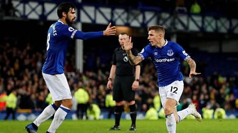 Everton vei lisäajalla Watfordilta vierasvoiton