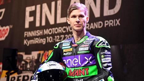 Niki Tuuli loukkaantui kaaduttuaan viime perjantaina Jerezin radalla.