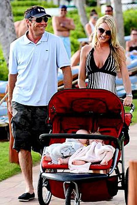 Dennis Quaidin ja Kimberlyn kaksoset syntyivät sijaisäidin avustuksella.