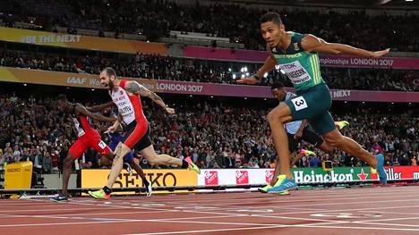 Ramil Guliyev voitti MM-kultaa.
