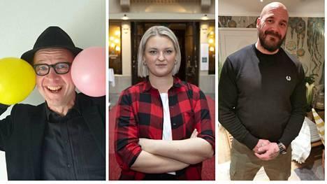Simo, Jenni ja Renne viettävät erilaista vappua.