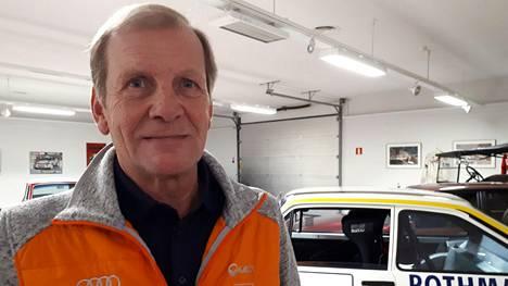 Juha Kankkunen on kovimman luokan rattimies.
