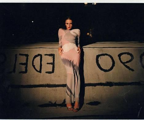 Melania Trump oli 90-luvulla menestynyt malli.