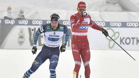Joni Mäki jätti Aleksandr Bolshunovin armottomasti taakseen.