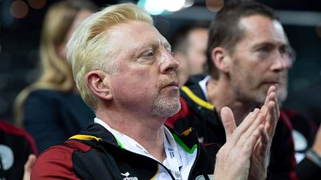 Boris Becker on viime vuosina toiminut muun muassa Saksan tennisliiton miestenniksen johtajana. Kuva Davis Cupista maaliskuulta 2020.
